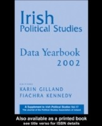 Irish Political Studies Data Yearbook 2002