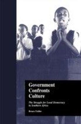 Government Confronts Culture