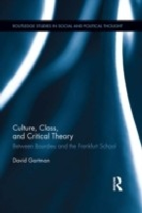 Culture, Class, and Critical Theory
