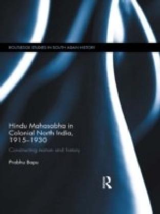 Hindu Mahasabha in Colonial North India, 1915-1930
