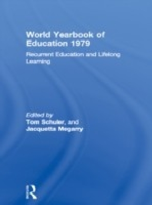 World Yearbook of Education 1979