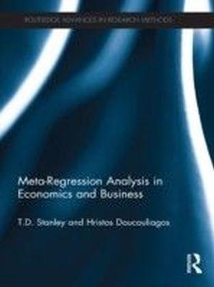 Meta-Regression Analysis in Economics and Business