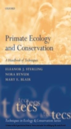 PRIMATE ECOLOGY AND CONSERVATION (TECS)