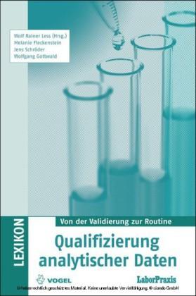 Qualifizierung analytischer Daten