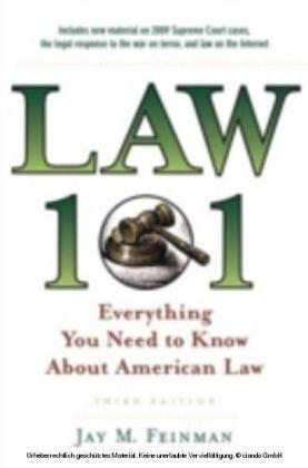 LAW 101 3E EBK