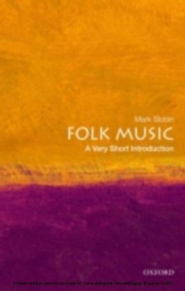 Folk Music A Very Short Introduction