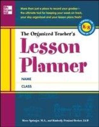 Organized Teacher's Lesson Planner