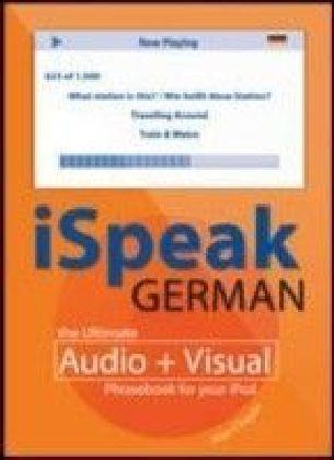 iSpeak German Phrasebook (MP3 CD + Guide)