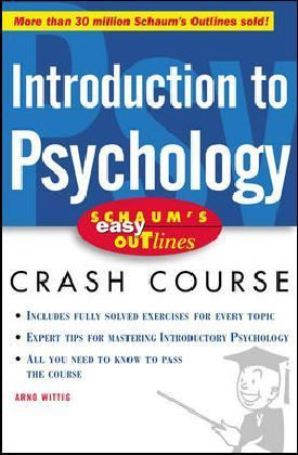 Schaum's Outline of Introduction to Psychology