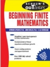 Schaums Outline of Beginning Finite Mathematics