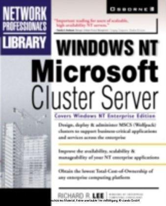 Windows NT Microsoft Cluster Server