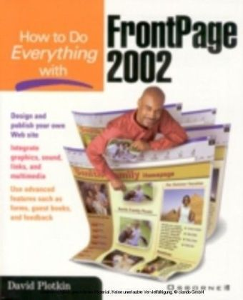 How to Do Everything with Frontpage 2002