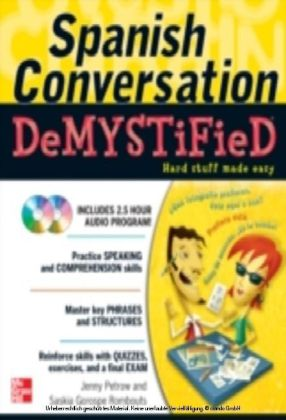 Spanish Conversation Demystified with Two Audio CDs
