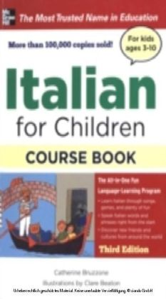 Italian for Children with Two Audio CDs, Third Edition