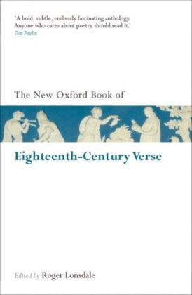 New Oxford Book of Eighteenth-Century Verse