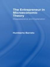 Entrepreneur in Microeconomic Theory