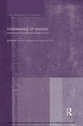 Governance of HIV/AIDS