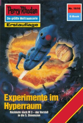 Perry Rhodan 1616: Experimente im Hyperraum