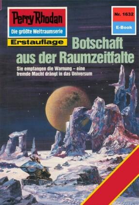 Perry Rhodan - Botschaft aus der Raumzeitfalte (Heftroman)