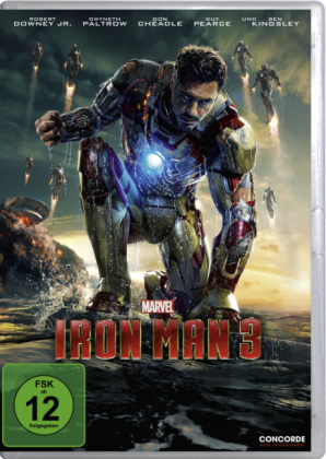 Iron Man 3, 1 DVD