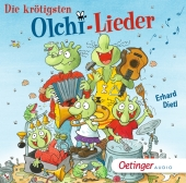 Die krötigsten Olchi-Lieder, 1 Audio-CD Cover
