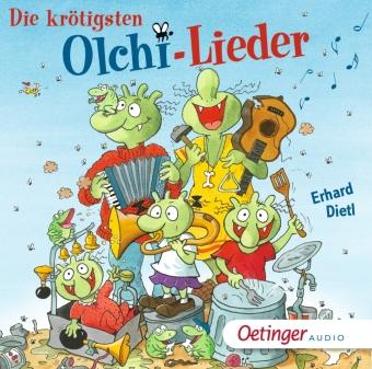 Die krötigsten Olchi-Lieder, 1 Audio-CD