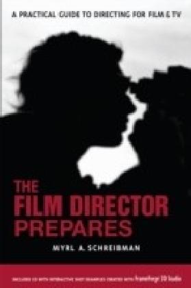 Film Director Prepares