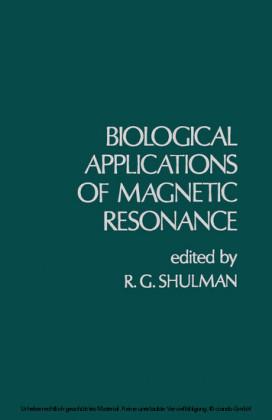 Biological Applications of Magnetic Resonance