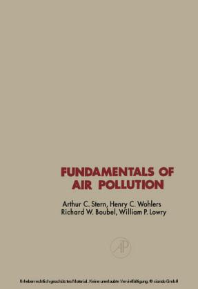 Fundamentals of Air Pollution