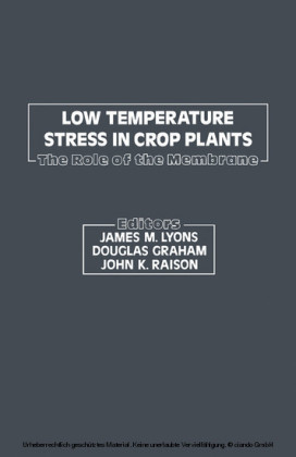 Low Temperature Stress In Crop Plants