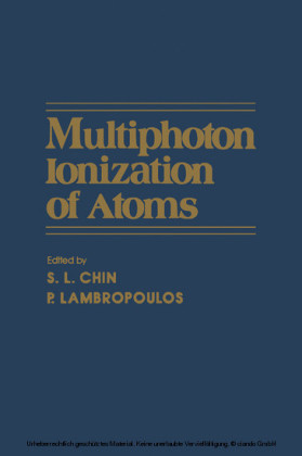 Multiphoton lonization of Atoms