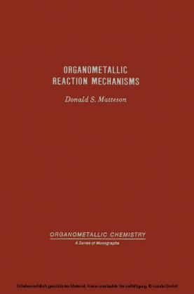 Organometallic Reaction Mechanisms Of The Nontransition Elements