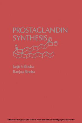 Prostaglandin synthesis