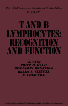 T and B Lymphocytes: Recognition and Function