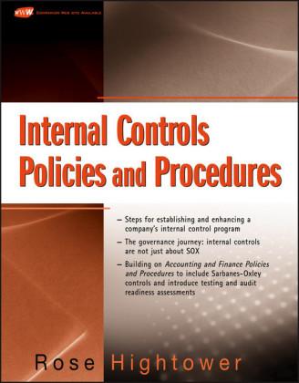 Internal Controls Policies and Procedures