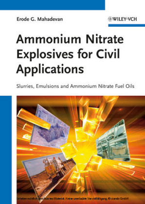 Ammonium Nitrate Explosives for Civil Applications