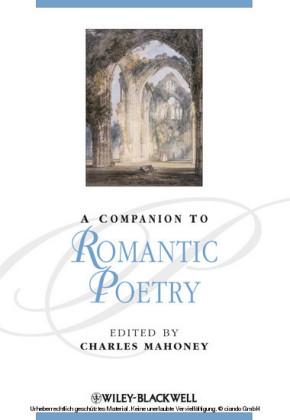 A Companion to Romantic Poetry