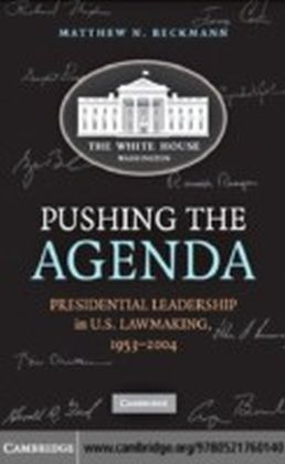 Pushing the Agenda