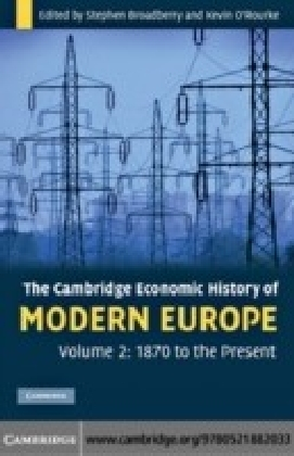 Cambridge Economic History of Modern Europe