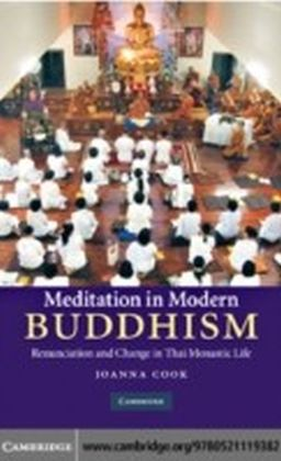 Meditation in Modern Buddhism