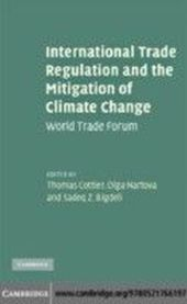 International Trade Regulation and the Mitigation of Climate Change