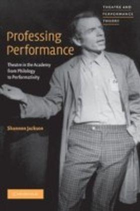 Professing Performance