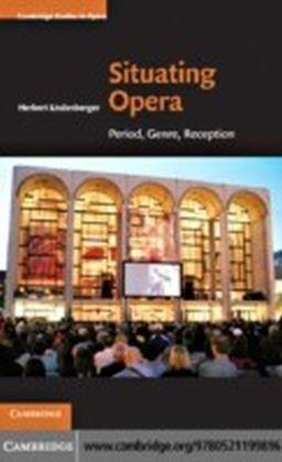 Situating Opera
