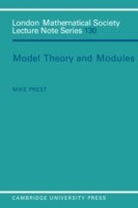 Model Theory and Modules