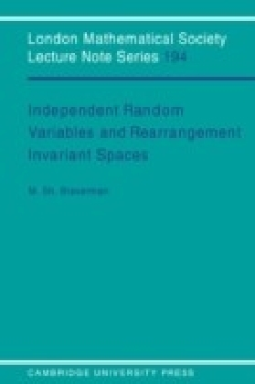 Independent Random Variables and Rearrangement Invariant Spaces