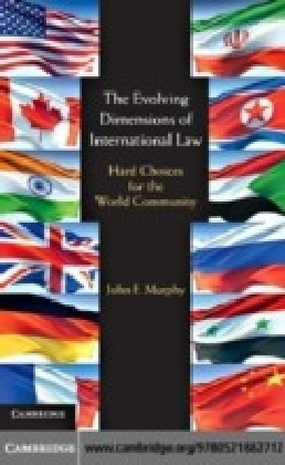 Evolving Dimensions of International Law
