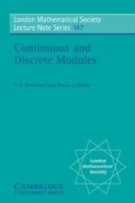 Continuous and Discrete Modules