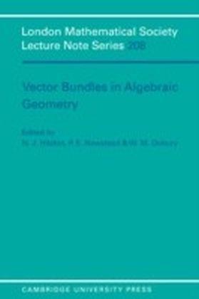 Vector Bundles in Algebraic Geometry
