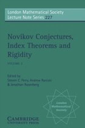 Novikov Conjectures, Index Theorems, and Rigidity: Volume 2