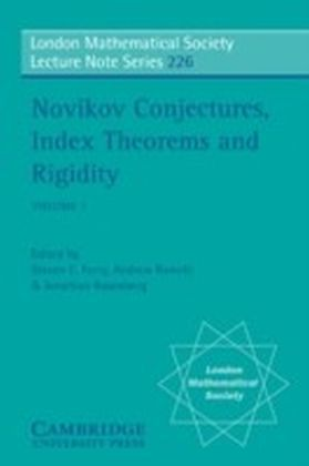 Novikov Conjectures, Index Theorems, and Rigidity: Volume 1